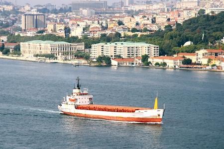bosporus: Tanker Ship On Bosporus