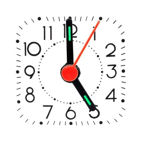 o�??clock: las 5 de la ma�ana