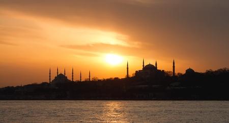 Istanbul, Sarayburnu in panoramic view