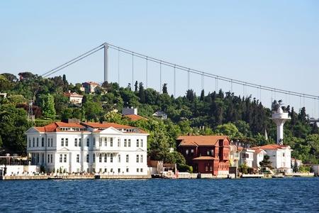 bosporus: Kanlica residences along Bosporus, Istanbul