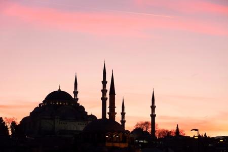 suleymaniye: Suleymaniye built  by Suleiman the Magnificent Stock Photo