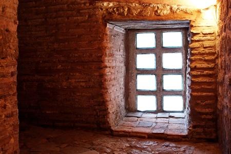 sophia: Window in passageway at St Sophia Museum
