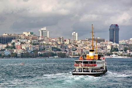Ferry to Istanbul Stock Photo