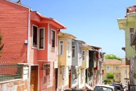 fatih: Historical Kariye Bostani Street, Fatih, Istanbul