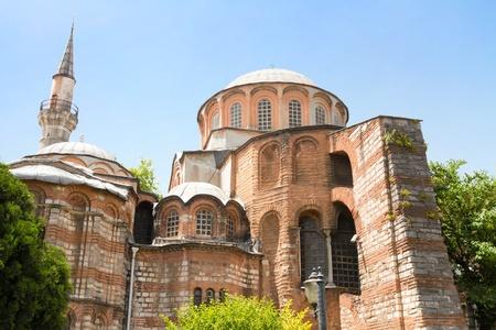 chora: Iglesia de Chora (Saint Irina), Istanbul Foto de archivo