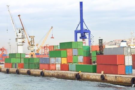 Cargo Containers Stock Photo - 12071571
