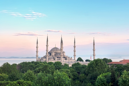 Istanbul Sultanahmet Camii most famous as Blue Mosque