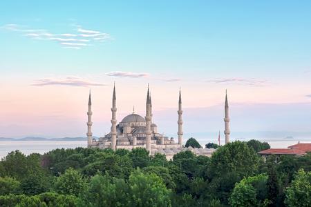Istanbul Sultanahmet Camii plus célèbre que la Mosquée Bleue Banque d'images