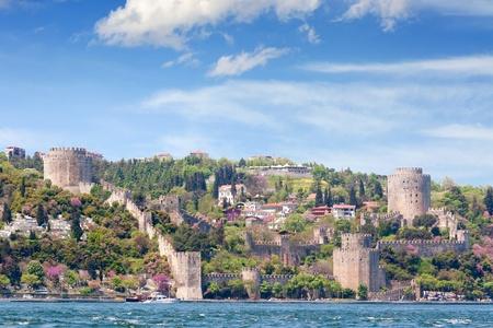 Istanbul, Rumeli Fortress in Spring Stock Photo - 13067839