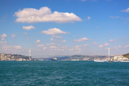 bosporus: Bosporus Sea of straits  Istanbul Turkey Stock Photo