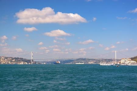 straits: Bosporus Sea of straits  Istanbul Turkey Stock Photo