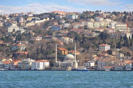 bosphorus: Beylerbeyi, Bosporus, Istanbul