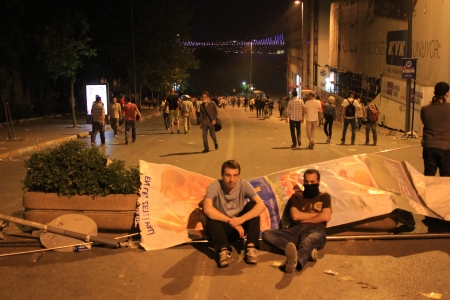 broadened: ISTANBUL - JUN 1: Violence sparked by plans to build on the Gezi Park have broadened into nationwide anti government unrest on June 1, 2013 in Istanbul, Turkey. Gumussuyu Street Editorial