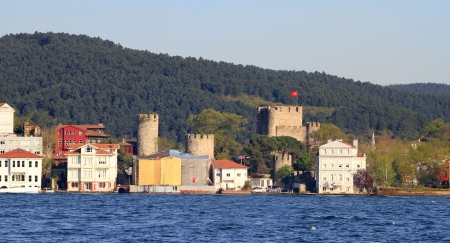 hisari: Anadolu Hisari  fortress in Istanbul, Turkey