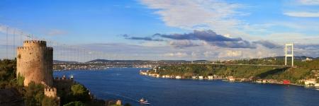 hisari: Rumelihisari with the Fatih Sultan Mehmet Bridge
