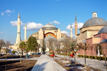 Hagia Sophia, Istanbul  in Winter