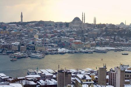 Winter at Goldenhorn, Istanbul