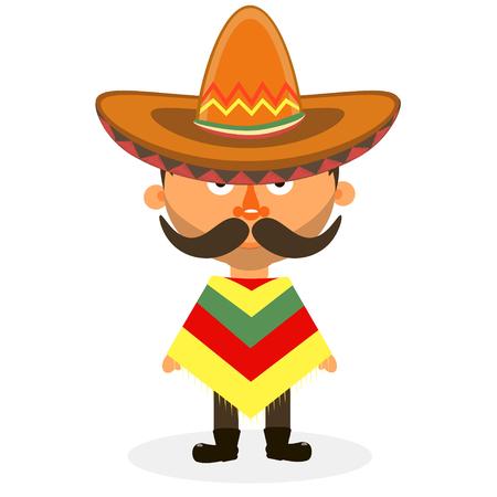 sombrero de charro: Sombrero mexicano, sombrero, sombrero mexicano aislado, vector sombrero mexicano Vectores