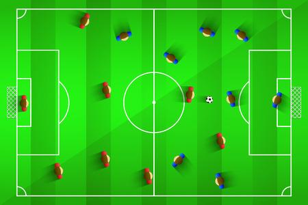 grass field: A realistic textures grass football  soccer field.