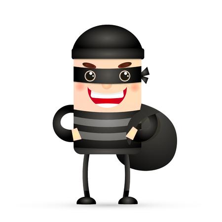 the thief hacker man mask bag jewelry