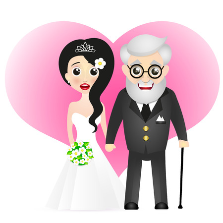 romance: bride and groom holiday flowers romance love