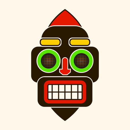 Mask Idol Icon. Cartoon Of Mask Idol Vector Icon For Web Design