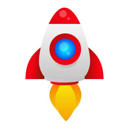 Missile, Rocket Isolated Vector Icon Which Can Easily Modify Or Edit