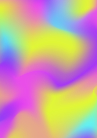Vector holographic gradient cover design template multicoloured background for poster, book, printing, billboard, advertisement, packaging, brochure, collage, wallpaper. 10 eps