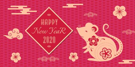Chinese New Year 2020 banner