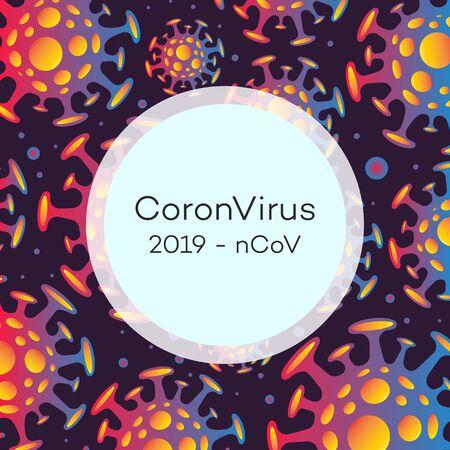Vector Coronavirus banner Illustration