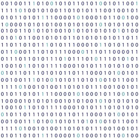 Vector streaming binary code background