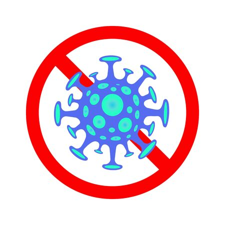 Stop Coronavirus - concept illustration