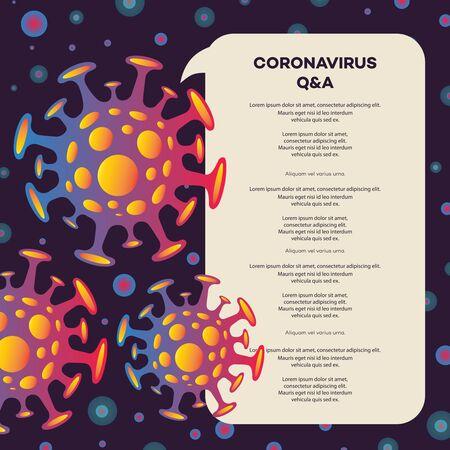 Novel coronavirus 2019-nCoV banner