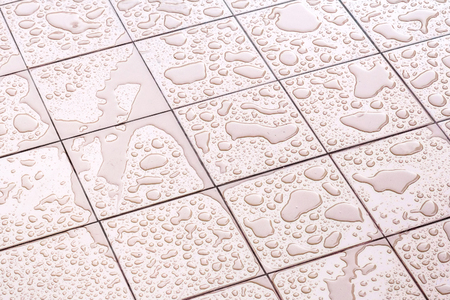 wet: Suelo mojado Azulejos Plaza