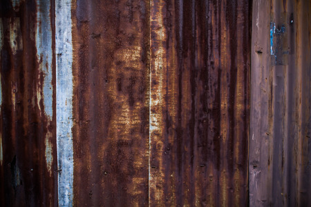 Rusty Metal Wall Texture Surface Background photo