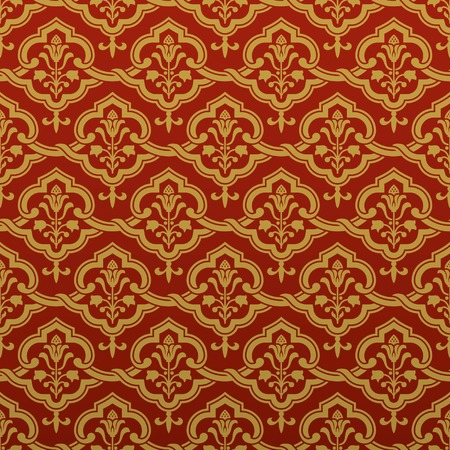 Seamless middle ages ornament Vector