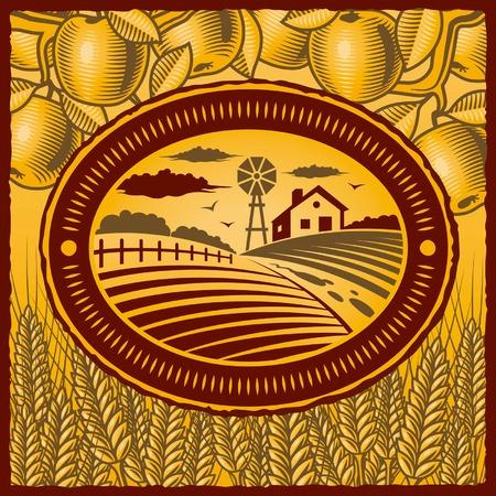 Retro boerderij