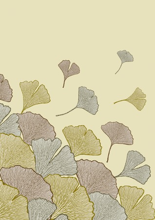 Fall of leaves Vector