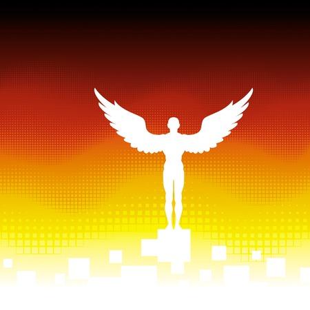 icarus: Angel Illustration