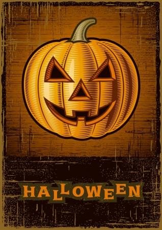 Halloween Jack O Lantern Stock Vector - 15663137