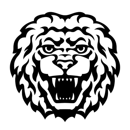 white lion: Lion Head Tattoo