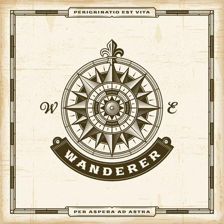 Vintage Wanderer Label.