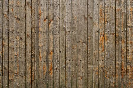 Weathered rustic wooden planks texture background.
