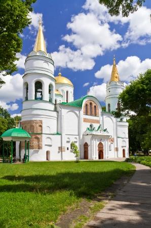 11th century: Spaso-Preobrazhensky Cathedral (11th century) in the city of Chernihiv, Ukraine
