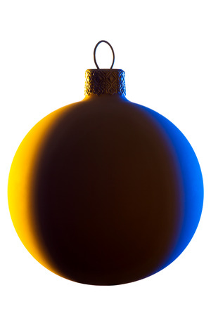 Christmas ball for a tree isolated on a white background Stock Photo