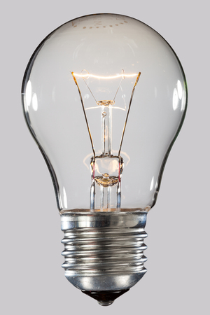 Current in an incandescent lamp