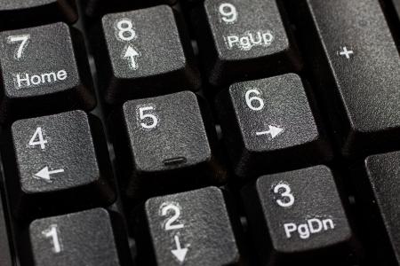 Numeric keyboard Stock Photo - 13926607
