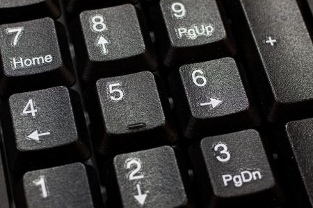 Numeric keyboard Stock Photo - 13926607
