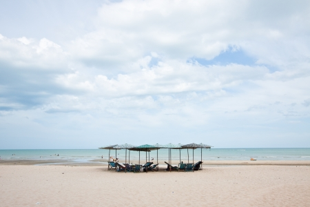 Rest on the Beach in Thailand photo