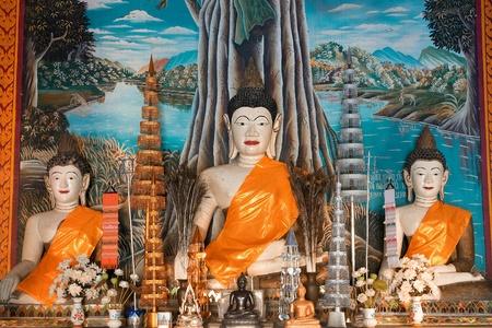 godhead: three image of Buddha